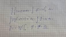 doppelintegral x y mathelounge