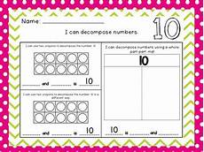 decomposing numbers 1 20 worksheets by mrs lindsey tpt