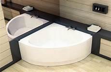baignoire place baignoire d angle gagner de la place dans sa salle de bain espace aubade