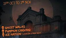 spooky events for at ally pally harringay