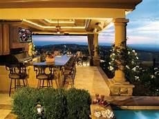 outdoor küche gemauert outdoor kitchen flooring options hgtv