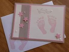 babykarte zur geburt taufe tanjas kreativecke auf