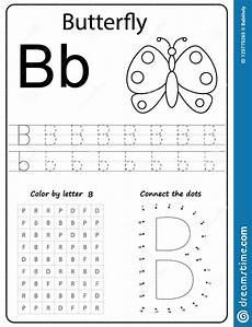 learning the letter b worksheets 24027 writing letter b worksheet writing a z alphabet exercises for stock vector