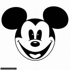 Micky Maus Gesicht Malvorlage Coloring Pages Comics Free Downloads
