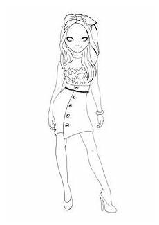 Topmodel Ausmalbilder Pdf Printables Foxy Draws Webseite