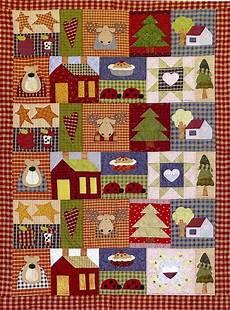 copriletti patchwork schema arm patchwork winter in the mountain trichi
