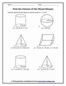 geometry solid volume worksheets 929 area of a circle lessons tes teach