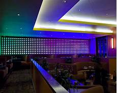 Led Beleuchtung Zimmer - restaurant led lighting eclectic dining room houston