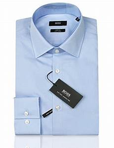 hugo business hemd jenno slim fit hellblau