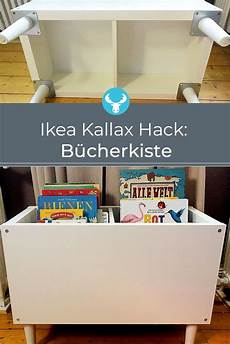 Ikea Kallax Buecherkiste Hack In 2019 Kinderzimmer