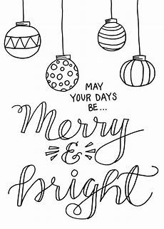 Frohe Weihnachten Malvorlagen Coloring Page Latta Creations