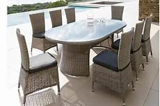 table de jardin hesp 233 ride ovale libertad 8 places en