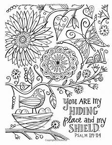 t t you ste my hiding place and my shield bible coloring pages coloring books bible verse