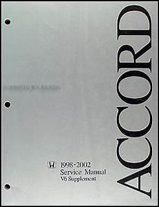 auto repair manual free download 1998 honda accord parking system 1998 2002 honda accord v6 repair shop manual supplement original