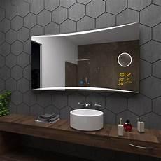 Badezimmerspiegel Mit Led Beleuchtung - vilnius spiegel badspiegel mit led beleuchtung mit