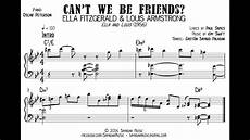fitzgerald louis armstrong can t we be friends