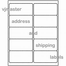 5000 address and shipping labels 2 x4 per label 10