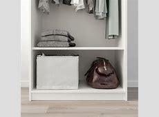 KLEPPSTAD Wardrobe with 2 doors   white   IKEA