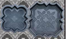 gießform für beton 2 giessformen f 252 r dekorative orient platten nr 200 beton