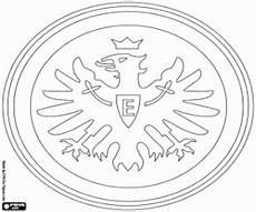 Ausmalbilder Fussball Wappen Bundesliga Ausmalbilder Eintracht Frankfurt Logo Zum Ausdrucken
