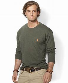 polo ralph classic fit sleeved jersey pocket
