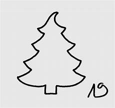 malvorlagen tannenbaum malbild