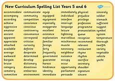 year 6 spellings st john s rc primary school