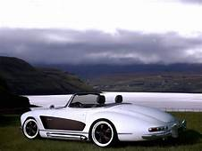 Mercedes 300 SL Roadster With Wide Body Kit  Autoevolution