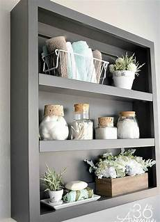 bathroom shelves decorating ideas 26 simple bathroom wall storage ideas shelterness