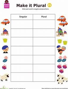 get a grip on grammar make it plural 1 worksheet