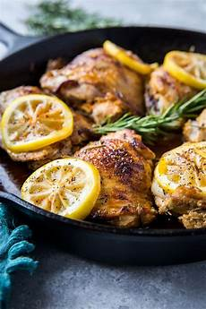 lemon rosemary braised chicken thighs the roasted root