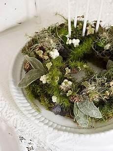 wie dekoriere ich homestead revival simple advent wreath ideas