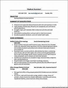 medical office assistant resume no experience free sles exles format resume
