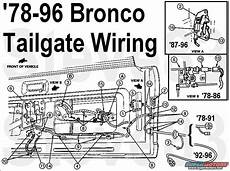 1983 Ford Bronco Tailgate Tech Picture Supermotors Net