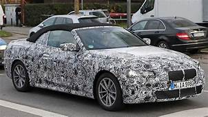 BMW 4 Series Convertible Spied Showing Off Its Body And Cabin