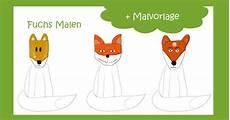 Malvorlage Fuchs Einfach Fuchs Malen Mit Vorlage Geht Es Ganz Einfach