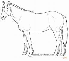 Ausmalbilder Pferde Friesen Clydesdale Drawing At Getdrawings Free