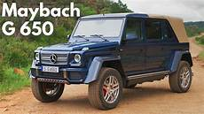 2017 Mercedes Maybach G 650 Landaulet Open Air Luxury