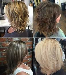 medium length layered hairstyles for thick hair hair style fashion