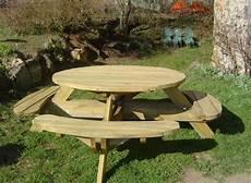 table et banc en bois pour exterieur table de pique nique en bois autoclav 233