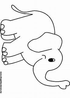 Elefant Vorlage Ausschneiden - malvorlagen elefant sendung mit der maus zum drucken ber