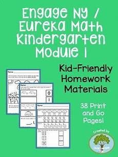 eureka math homework helper kindergarten engage ny eureka math kindergarten module 1 supplemental homework materials kindergarten math