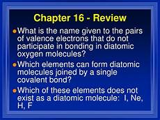 ppt chapter 16 review covalent bonding powerpoint presentation id 562270