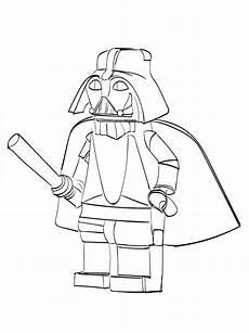 Lego Wars Yoda Ausmalbilder Malvorlagen Lego Wars