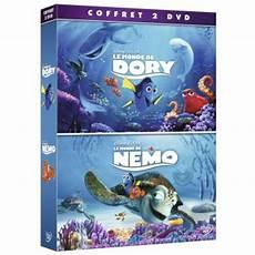 coffret le monde de dory le monde de nemo dvd dvd zone