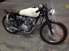Honda Tmx 125 To Cafe Racer
