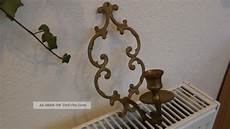 alter wandkerzenhalter jugendstil barock messing