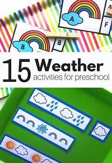 weather activities for preschool free printable no