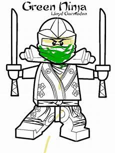 lloyd garmadon ninjago green coloring page