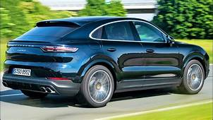 2020 Blue Porsche Cayenne S Coupe  Performance SUV YouTube